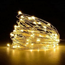 Gbkof 2M 3M 5M 10M Outdoor Led Lichtslingers Vakantie Verlichting Fee Garland Voor Kerstboom wedding Party Decoratie(China)