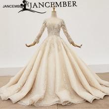 HTL1365 v ausschnitt hochzeit kleid lange hülse einfache hochzeit kleid pailletten applique einfache ballkleid vestido novia encaje
