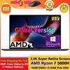 2021 Xiaomi Mi Notebook Pro 15 Ryzen Edition AMD Ryzen 7 5800H 15.6 Inch Laptops 16GB RAM 512GB SSD Computer Windows 10 Pro 1