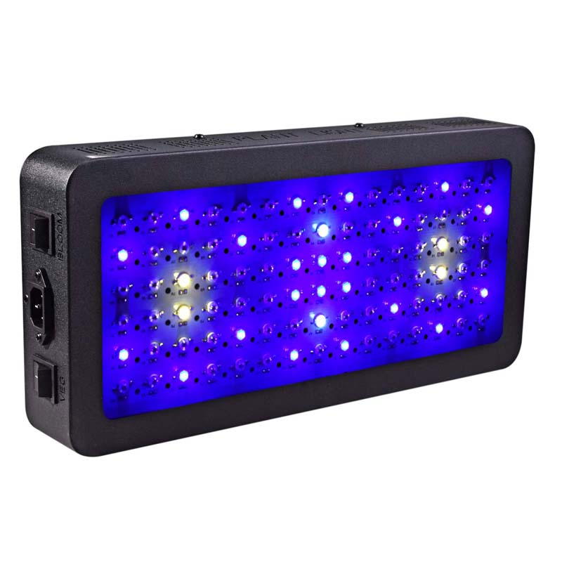 Double switch Grow light 900W Full Spectrum  for Indoor Greenhouse grow tent plants led