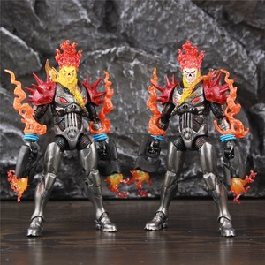 """Image 2 - Original ML Legends Cosmic Ghost Rider 6"""" Action Figure Fire Whip Without Motorbike From Vehicle Set Riders Series Toys Doll"""