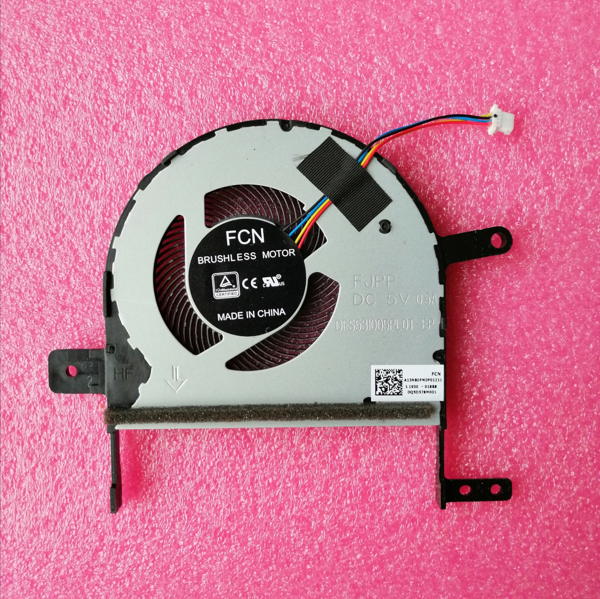 New CPU Cooler Fan For ASUS S501U X510U S510 X510 X510UN X510UQ X510UR X510UAR S510UQ S510UA F510U DFS531005PL0T FJPP Radiator