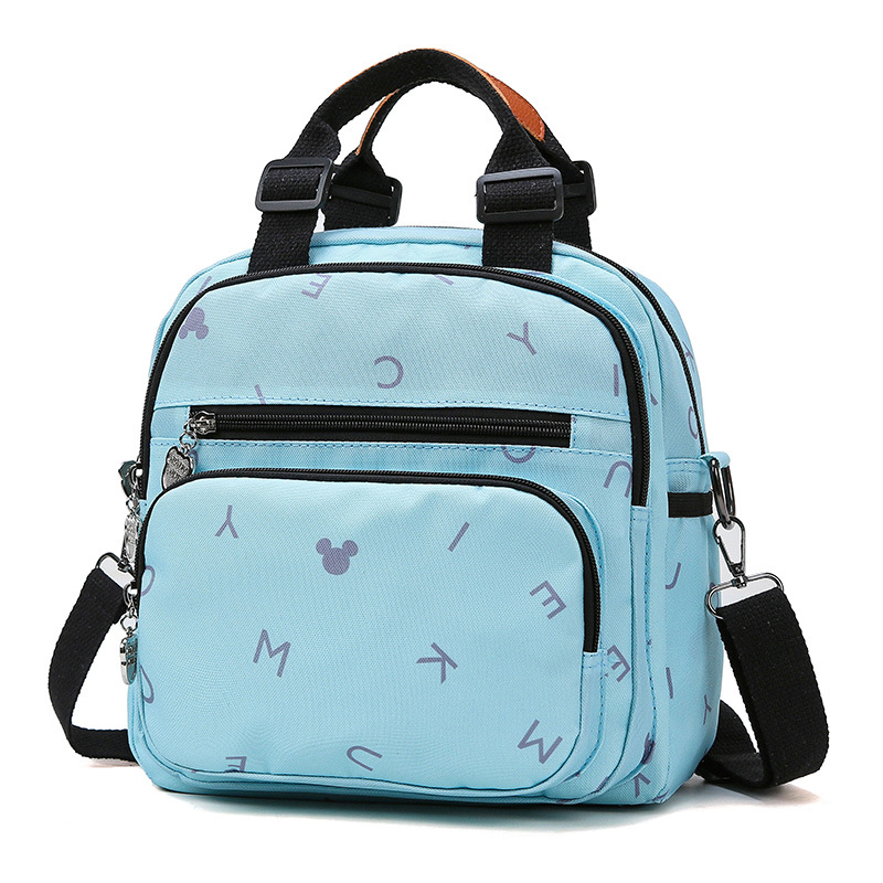 Fashion Cartoon Outdoor Travel Baby Care Wetbag Diaper Bag Backpack Mommy Handbag Maternity Large Capacity Portable Nappy Bag