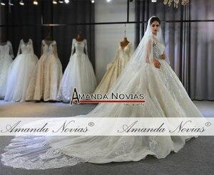 Image 4 - robes de mariée wedding dress princess custom made wedding dress real work 100% high quality