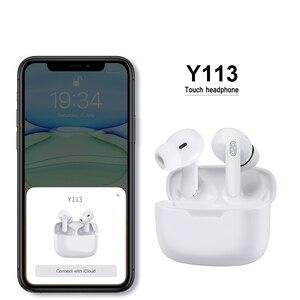 Y113 TWS Earbuds Wireless Headphones Pro Bluetooth Earphones With Microphone Touch Control Sport Waterproof Headset Noise Cancel