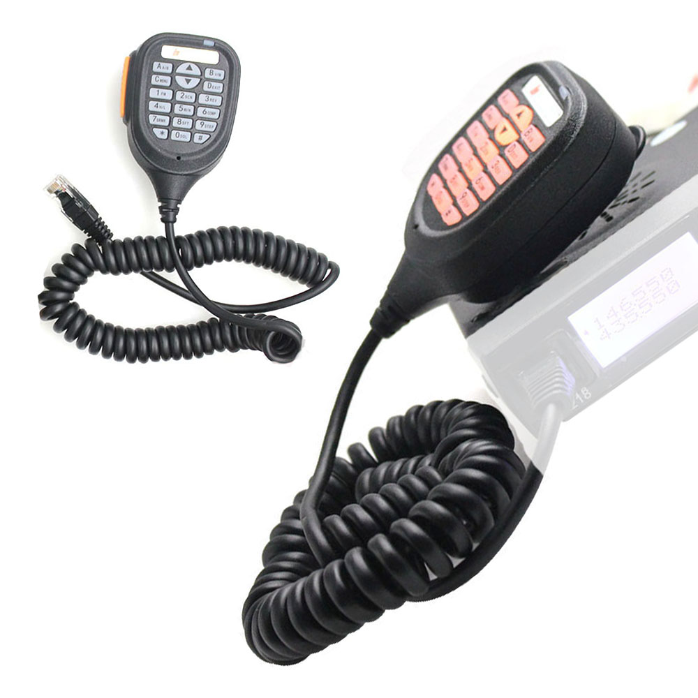 2020 Hot Sale Speaker Mic Microphone For Baojie BJ-218 25W Dual Band Mini Mobile Radio Brand New And High Quality