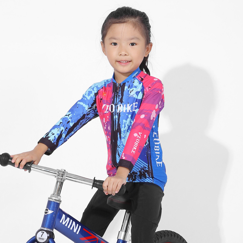 High Quality Children's Cycling Suit Long Sleeve Suit Boys and Girls Spring and Autumn Balance Bike Scooter Riding Equipment|Cycling Sets| |  - title=
