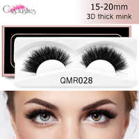 Crislashes 1 Pair Mink False Eyelashes Strip Mink Eyelash 5D False Volume Lash Handmade Reusable Natural Makeup Tool Wholesale