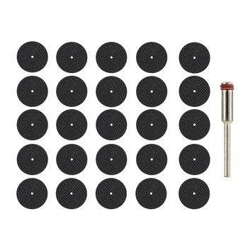 ¡Disco de corte abrasivo 32mm 54 piezas con mandriles! Muela para accesorios...