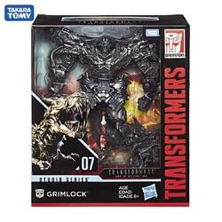 TAKARA TOMY Transformers SS07 Car Metal Part 125CM Grimlock Autobots Action Figure Deformation Robot Children Gift Toys