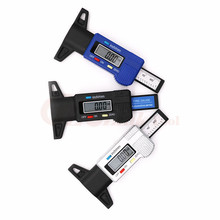 Digital Car Tyre Tire Tread Depth Gauge Meter Measurer Tool Caliper Thickness Gauges Tread Brake Pad Shoe Tire Monitoring System
