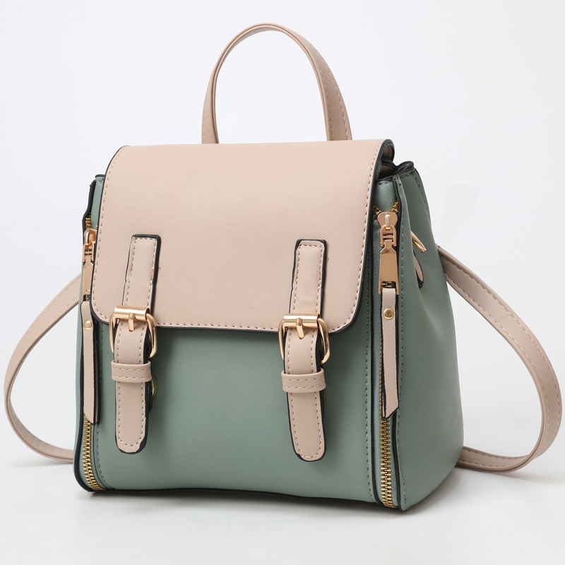 2020 New Multi-function Cute Small Fresh Shoulder Slung Hand College Style Urban Business Student Travel Backpack