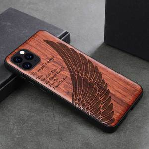 Image 4 - Phone Case For iPhone 11 iPhone11 Pro Original Boogic Wood TPU Case For iPhone XR XS Max 8 7 6 6s plus SE 2 Phone Accessories