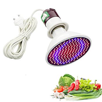 Phytolamp pełne spektrum 20W lampa ledowa do hodowli roślin E27 LED światła dla roślin oświetlenie do uprawy czerwony niebieskie ledy dla roślin kwiat wzrostu żarówka tanie i dobre opinie RAYWAY ROHS SMD GROW LAMP Aluminium Led plant grow light Żarówki led 85-265 v Rosną światła 5 5cm LED Full Spectrum grow light