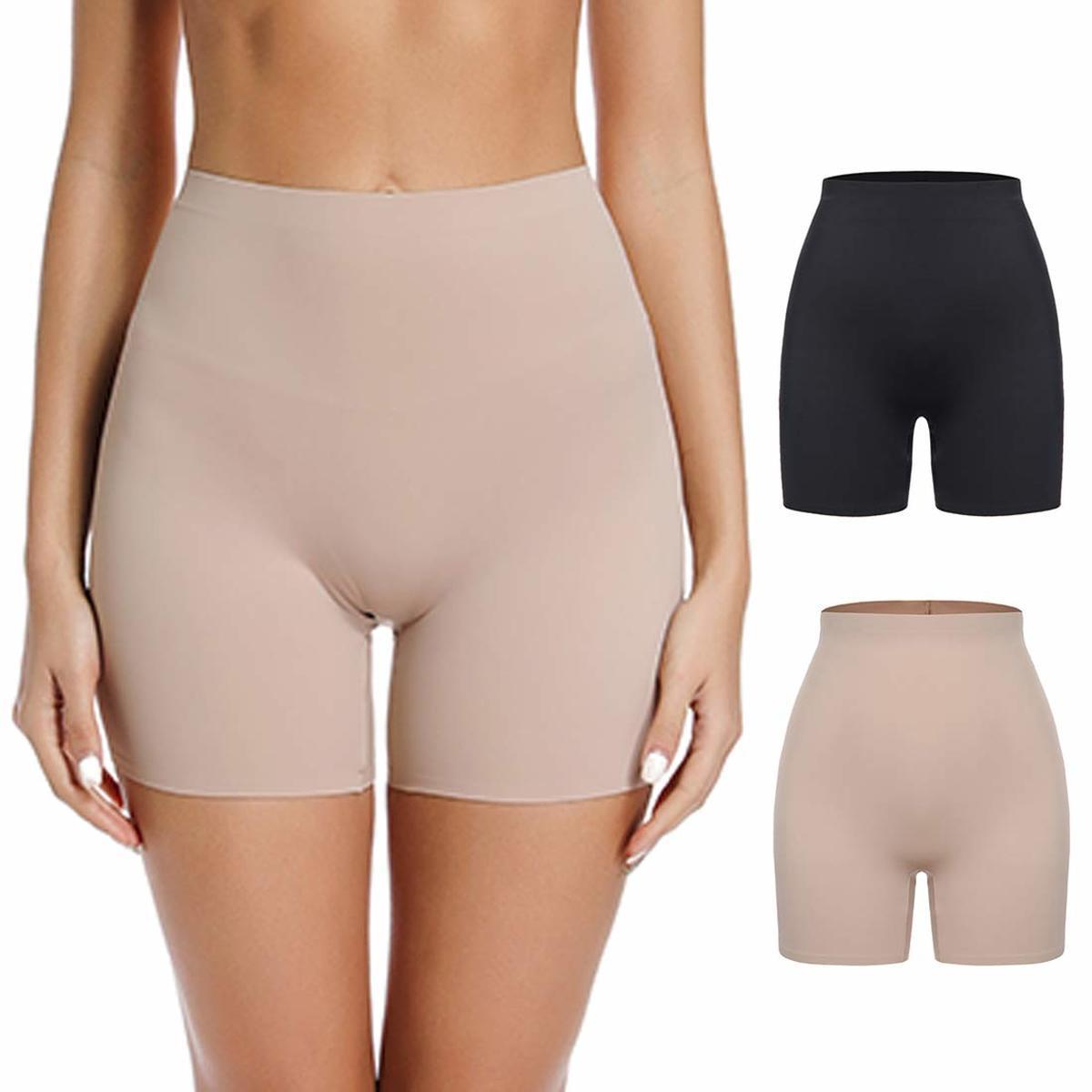 Seamless Slimming Underwear Panties Boyshort For Women Safety Shorts Pants Soft Invisible Underwear Briefs High Waist Panties