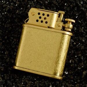 Керосиновая Зажигалка ZORRO в стиле ретро, латунная зажигалка с пламенем, автоматический отскакивающий шлифовальный круг, зажигалки для сига...