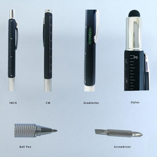 6 en 1 herramienta multifunción destornillador bolígrafo pantalla táctil capacidades teléfono escritura bolígrafo herramienta bolígrafo sz Color