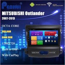 Автомобильный dvd плеер на android для mitsubishi outlander
