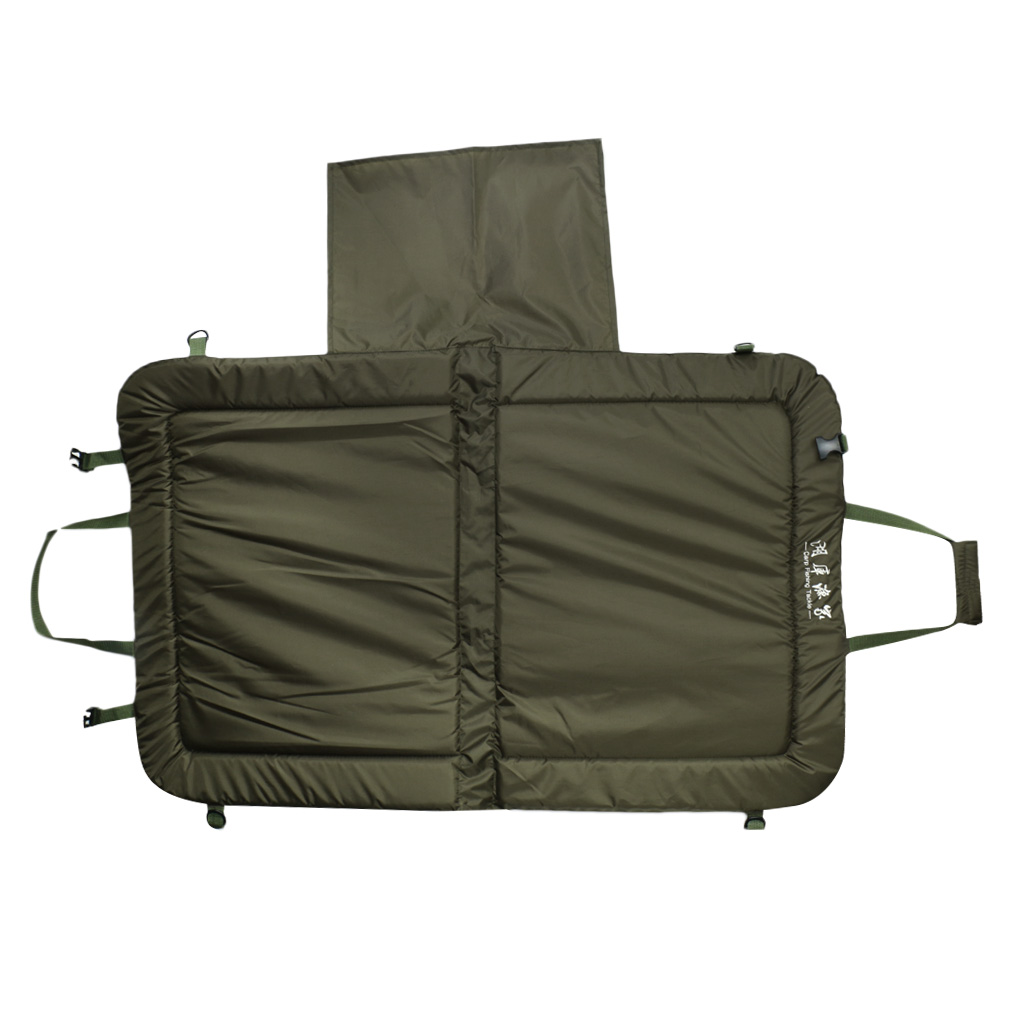 Foldable Unhooking Fish Protection Mat Pad Beanies Mat 109 X 69 X 2.5cm Pike Carp Fishing Accessories Tackle Army Green