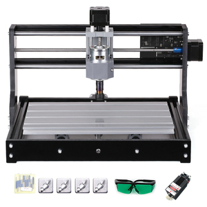 Image 2 - Laser Engraver CNC3018 PRO DIY CNC Router Engraving Machine GRBL Control 3 Axis for PCB PVC Plastic Acrylic Wood Carving Milling
