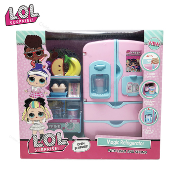children s toy doll stroller play pretend toy children s toy cart girl play house toy trolley birthday gifts brinquedos juguetes LOL Surprise Dolls Juguetes Play House Refrigerator Toy PVC Anime Figures Model Toys for Children Birthday Gifts for Girls