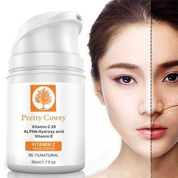 Crema hidratante para el blanqueamiento de la piel, crema facial antiarrugas, suero...