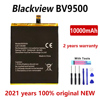 Original 10000mAh BV 9500 New Phone battery For BV9500 Pro MT6763T 536380 Genuine Replacement Batteries Bateria With Gift Tools