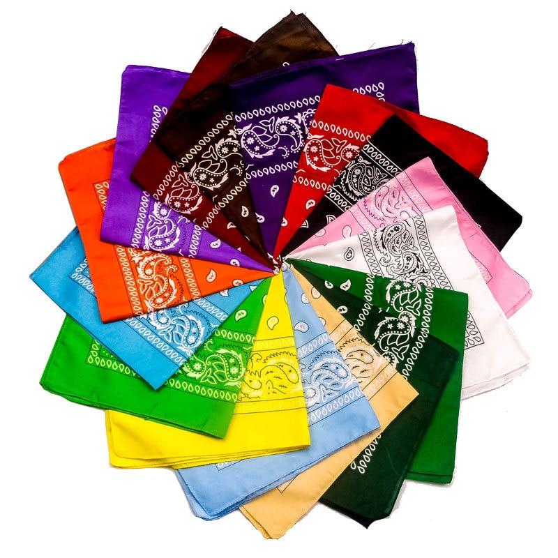 Unisex bandane na prostem s tiskanim kvadratnim šalom maska za - Kampiranje in pohodništvo - Fotografija 1