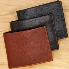 Wallet Men Hot Selling New Short Wallet Korean Youth Men's Horizontal Thin Billetera Hombre Trend Card Pack Purse For Men