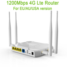 Wireless Router 4G Usb Modem Wifi LTE 867Mbps WiFi Repeater 1200 Mbps 2,4 GHz/5 GHz 3G VPN PPTP L2TP
