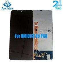 100% Оригинальный ЖК-дисплей UMIDIGI A5 PRO и сенсорный экран 6,3 дюйма A5 PRO экран дигитайзер в сборе Замена + инструменты в наличии
