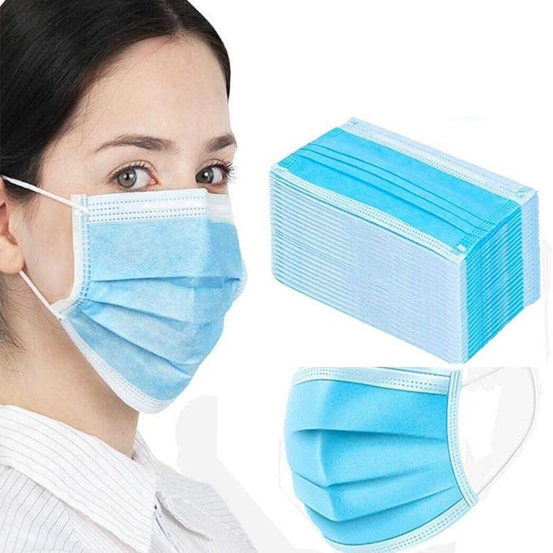 Soft 3-layer Disposable Face Mask Prevents Saliva Transmission And Effectively Protects The Face From Irritation