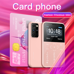 New Arrive SOYES S10P Mini Card Phone 2G GSM 400mAh 1.54'' MTK6261M Ultra-Thin Fashion Children Small Size Mobile Phones