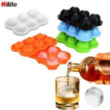 HILIFE6 Molds Ice Cube Ball DIY Mold Ice Ball Maker Ice Ball Mold Silicone Large Size Bar Accessories for Soda Whiskey