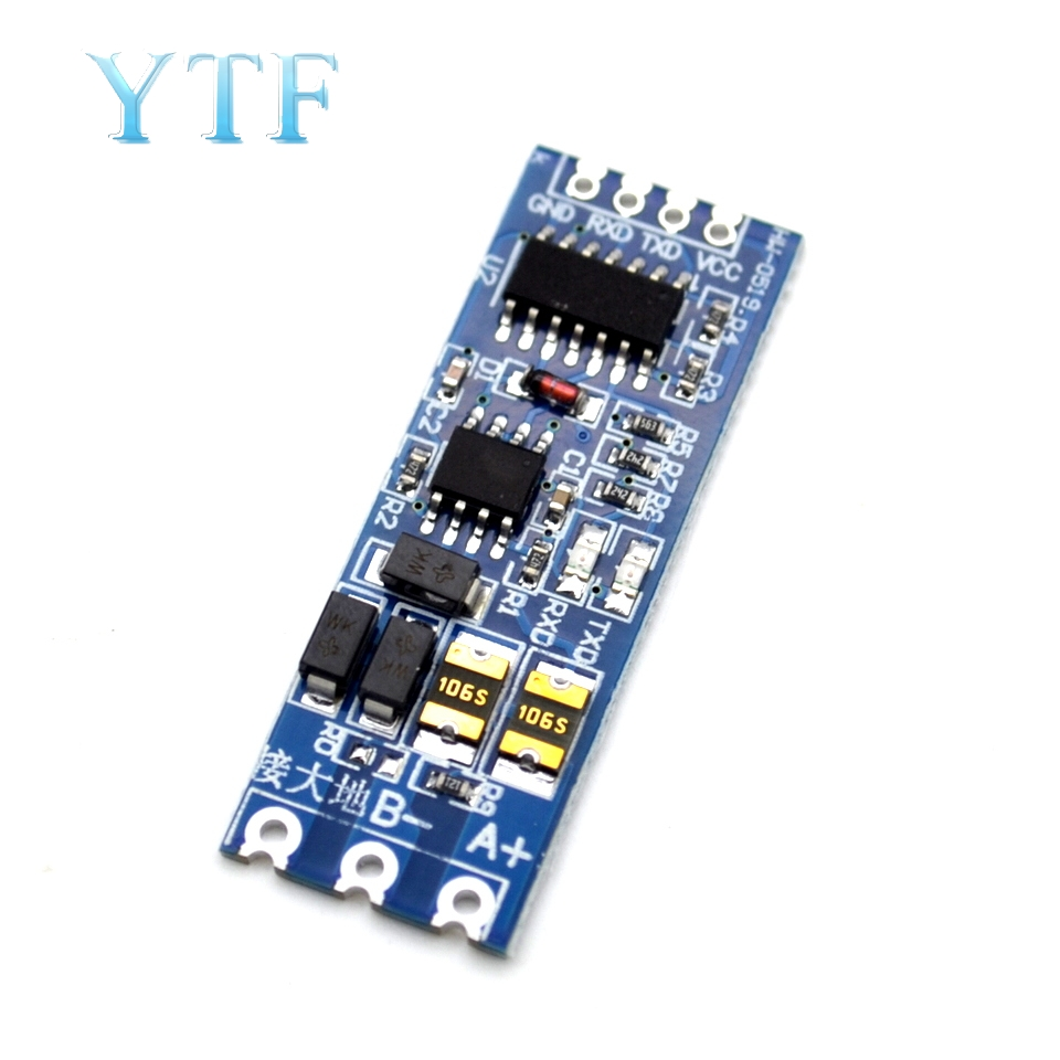 TTL Turn RS485 Module 485 To Serial UART Level Mutual Conversion Hardware Automatic Flow Control Module