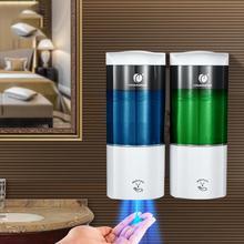 500ML*2 Double Head Automatic Liquid Soap Dispenser Smart Sensor Touchless Kitchen Detergent Dispenser Shampoo Dispensers цена