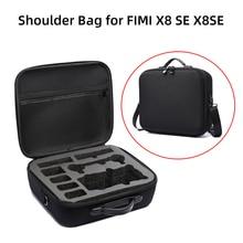 حقيبة كتف ل FIMI X8 SE 2020 بطارية توصيل خارجي تحكم حقيبة للتخزين صندوق حمل عنيد للماء ملحقات الحقائب اليدوية