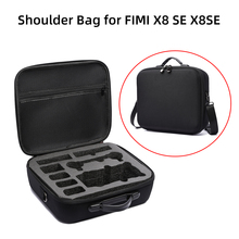 Shoulder Bag for FIMI X8 SE 2020 Drone Battery Controller Storage Case Carrying Box Hardshell Waterproof Handbag Accessories