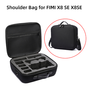 Image 1 - Shoulder Bag for FIMI X8 SE 2020 Drone Battery Controller Storage Case Carrying Box Hardshell Waterproof Handbag Accessories