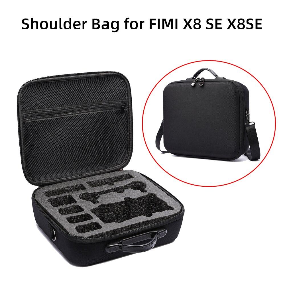 Shoulder Bag For FIMI X8 SE X8SE Drone Battery Controller Storage Case Carrying Box Hardshell Waterproof Handbag Accessories