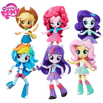 Genuine My Little Pony Toys for Girls Juguetes Rainbow PVC Action Figure Dolls Hot Toys for Children My Little Pony Birthday - DISCOUNT ITEM  41 OFF Toys & Hobbies