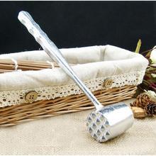 Молоток высокого качества из алюминиевого сплава для размягчения мяса молоток с длинной ручкой говяжий стейк кухонные инструменты