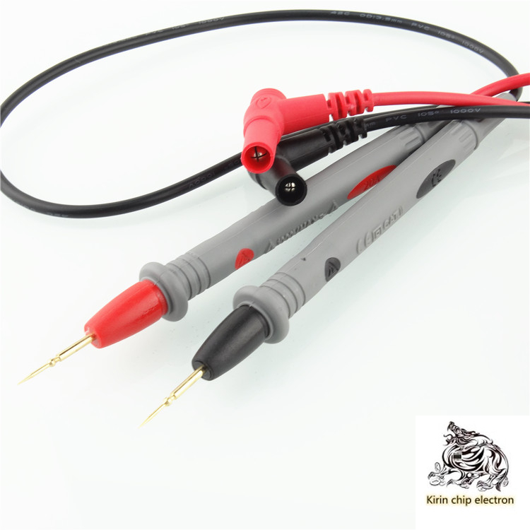 5pcs / Lot Universal Digital Multimeter Line Test Line 1000V 20A Gold Plated Head High-grade Universal Meter Stylus