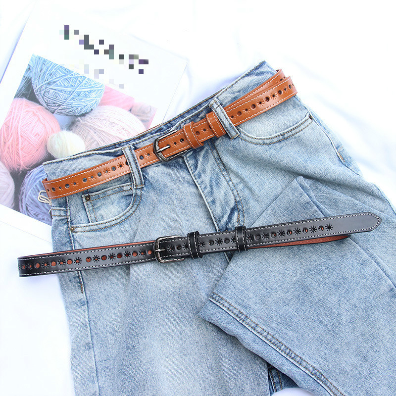 2020 High Fashion Spring Hollow Belts For Women Solid All-match Corset Belt New Design Hot Sale Waistband Female Trendy ZK890