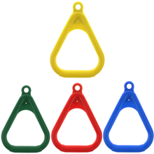 Ring-Swing-Set Bar-Rings Play-Set Trapeze Playground for Choose:red Blue Yellow Dark-Green