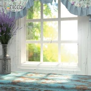 Image 5 - Laeaccoルームインテリア写真撮影の背景ホワイトハウス窓カーテンサンシャイン植物ための写真の背景写真スタジオの小道具
