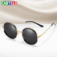 Mirrored Sunglasses Driving Eyewear Uv400 Retro-Style CARTELO Polarized Men's Luxury