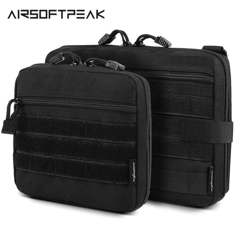1000D Nylon Tactical Molle Pouch Outdoor Accessory Storage Bags Hunting EDC Waterproof Multi-Functional Ammo Utility Backpack