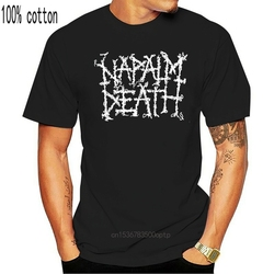 NAPALM DEATH - OLD LOGO - Official Licensed T-Shirt - Death Metal - New M L XLMen's Clothing T-Shirts