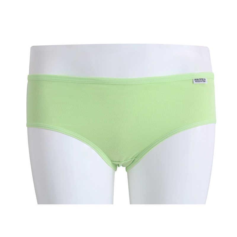 ผู้หญิงเซ็กซี่ผู้หญิงผ้าฝ้าย Underpant ชุดชั้นในต่ำเอวชุดชั้นในกางเกง Knickers Y51E